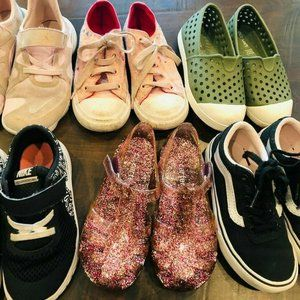 Toddler Girl Sneakers Size 10 And 11